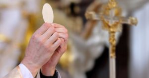 Pray for those receiving Sacraments